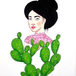 Edwardian Cacti